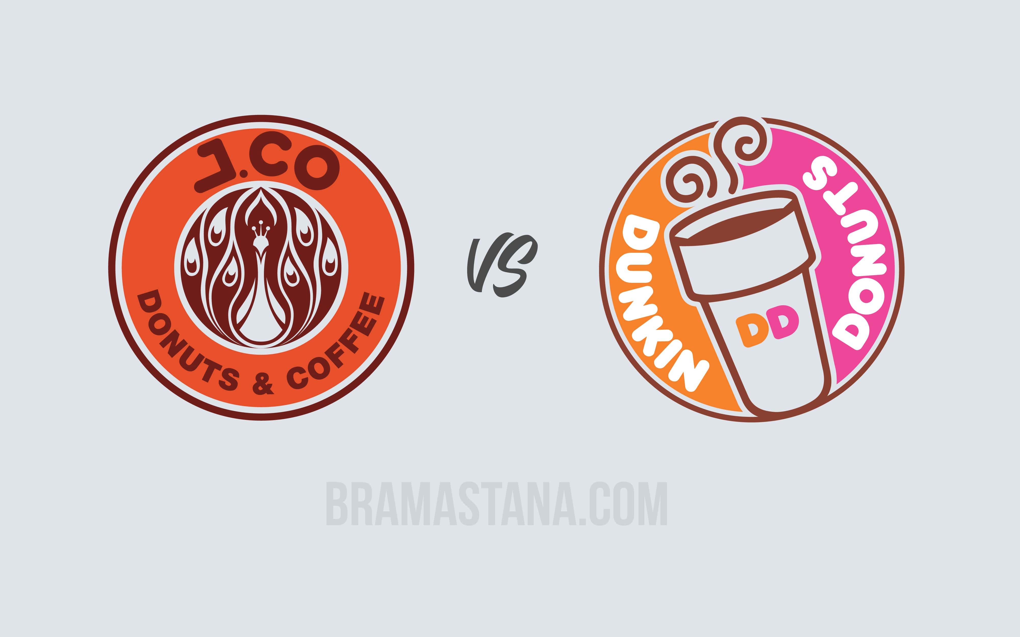 Jco VS Dunkin Donut, Siapa Rajanya Donat di Indonesia ?