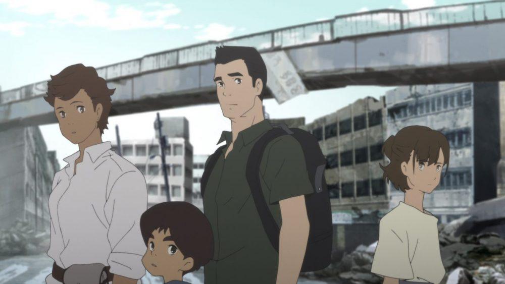 Anime penuh pesan moral -Review Japan Sink 2020