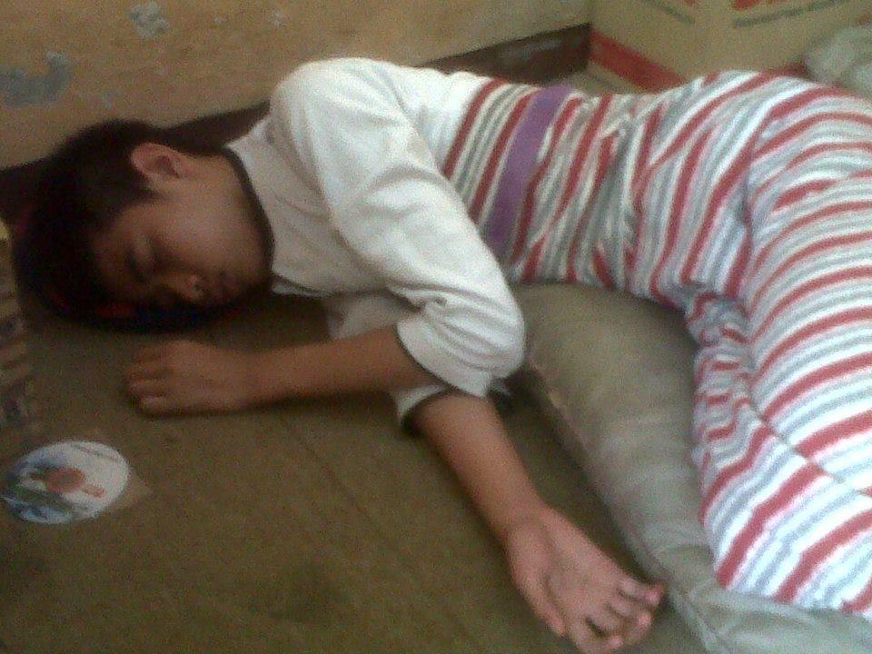 Tidur ketika magang